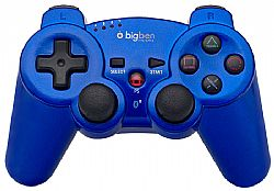 Χειριστήριο Big Ben Wireless Bluetooth Metallic Blue (PS3)