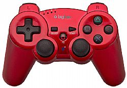 Χειριστήριο Big Ben Wireless Bluetooth Metallic Red (PS3)