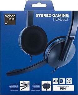 BigBen Stereo Gaming Headset PS4