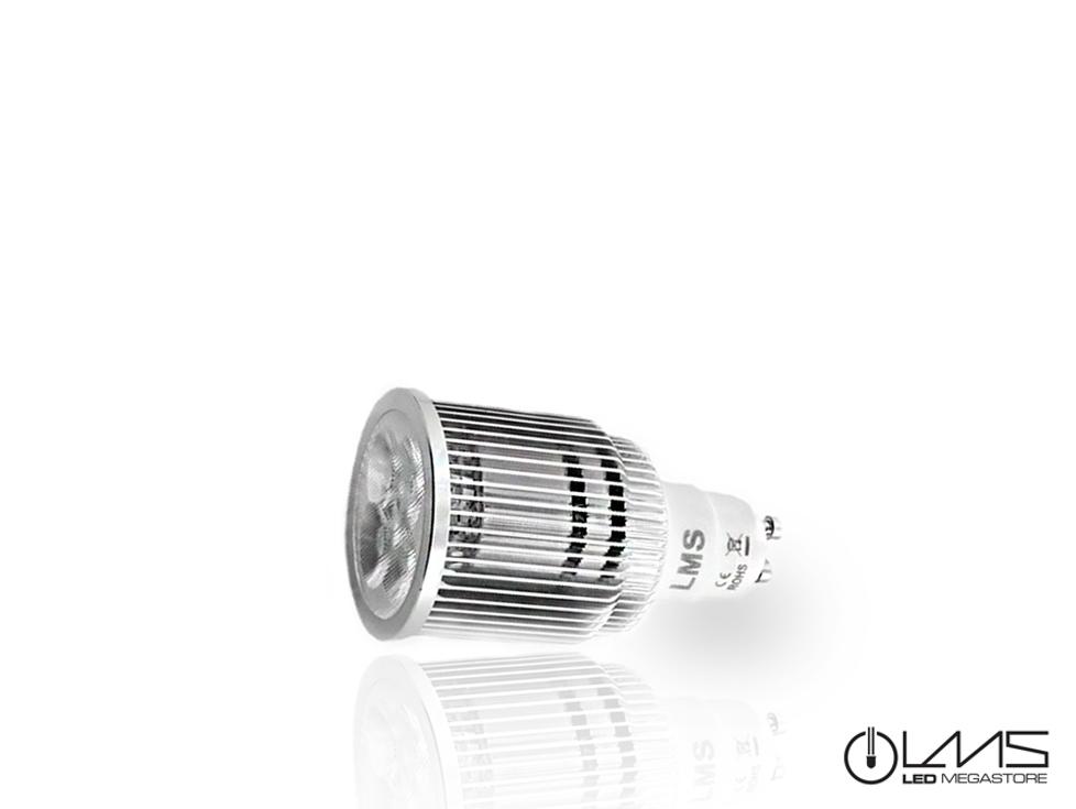 Εικόνα του προϊόντος LED Σποτ GU10 5x1 Watt Θερμό Λευκό 00140