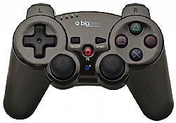 Χειριστήριο Big Ben Wireless Bluetooth Metallic black (PS3)