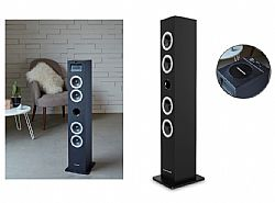 THOMSON Sound Tower DS120CD, bluetooth, CD/USB/SD/Line in, 60W, μαύρο