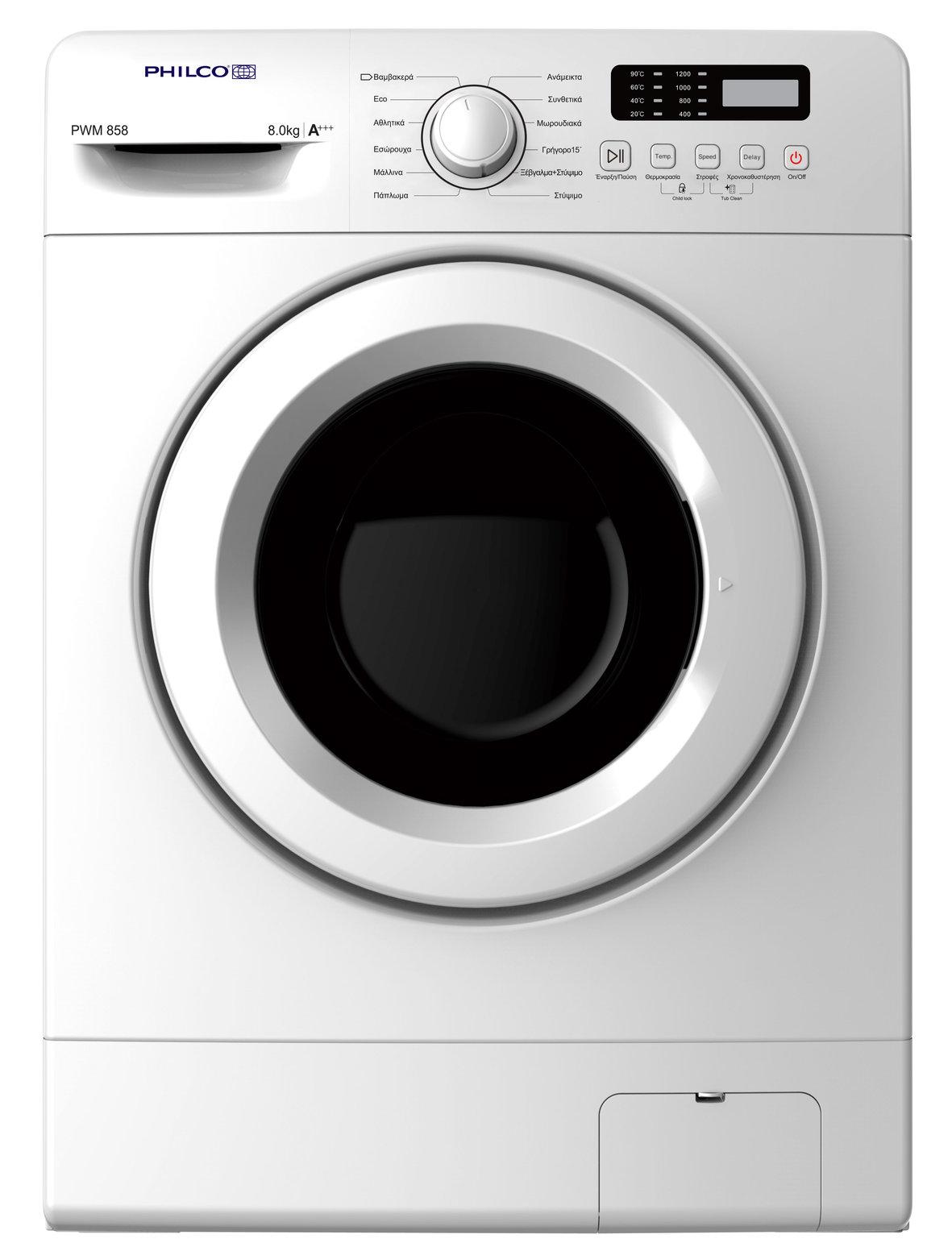 Πλυντήριο Ρούχων Philco PWM 858 PWM858